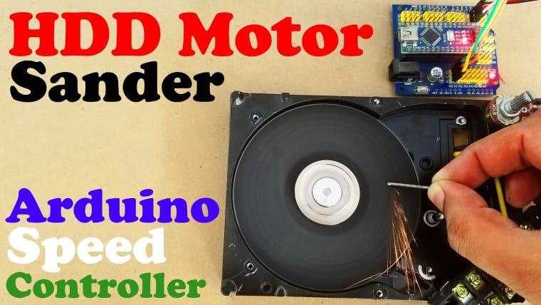 In this tutorial, you will learn how to turn your old Hard disk Motor