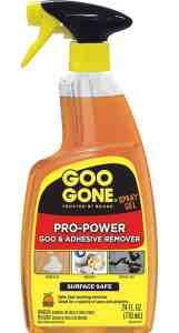 Spray Bottle of Goo Gone