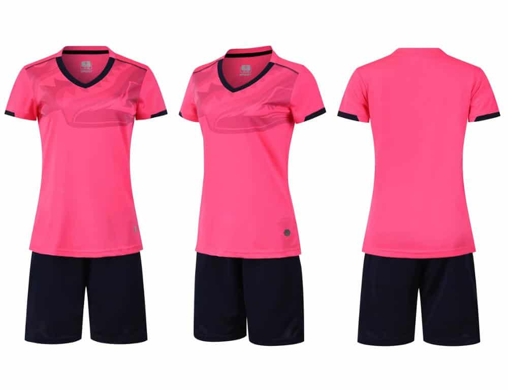 Women-Female-girl-Soccer-Jersey-Set-Football-Jersey-Tracksuit-Soccer-V-neck-Training-Suit-survetement-Football