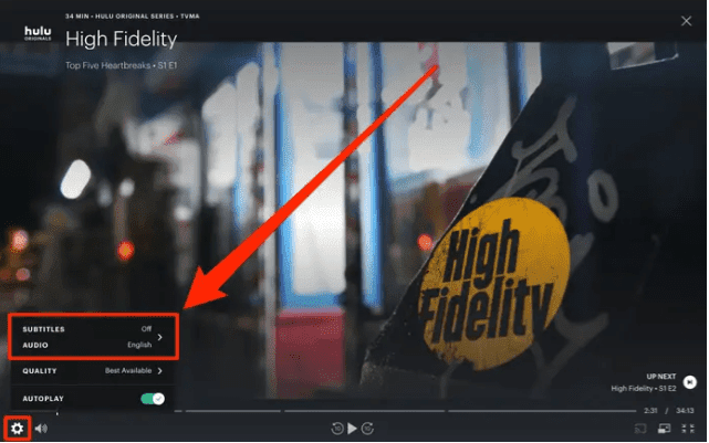 how-to-change-subtitles-languages-on-hulu-gear-icon