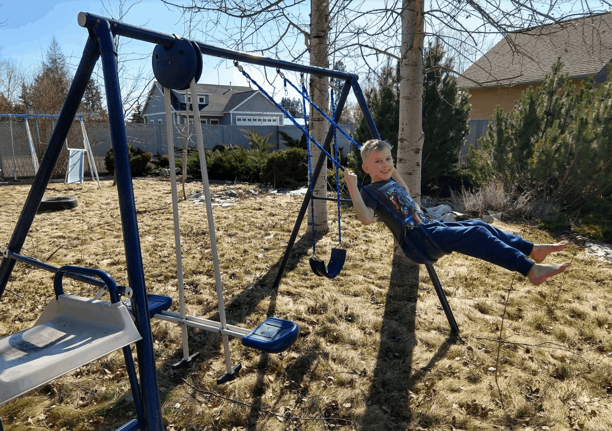 Eli on Swing