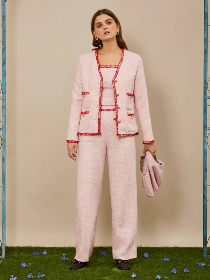 THE GRAND CAROUSEL Waltzer Tweed Jacket and trousers