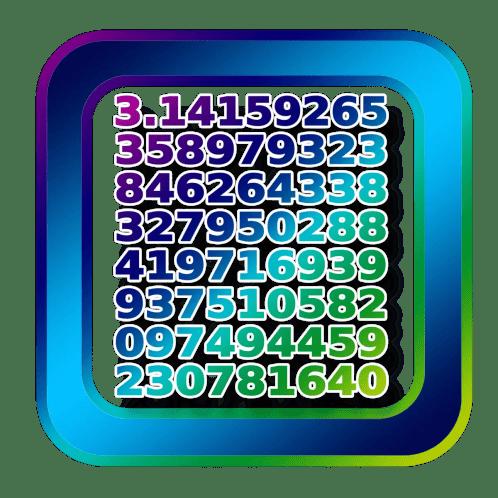 pi symbol calculation