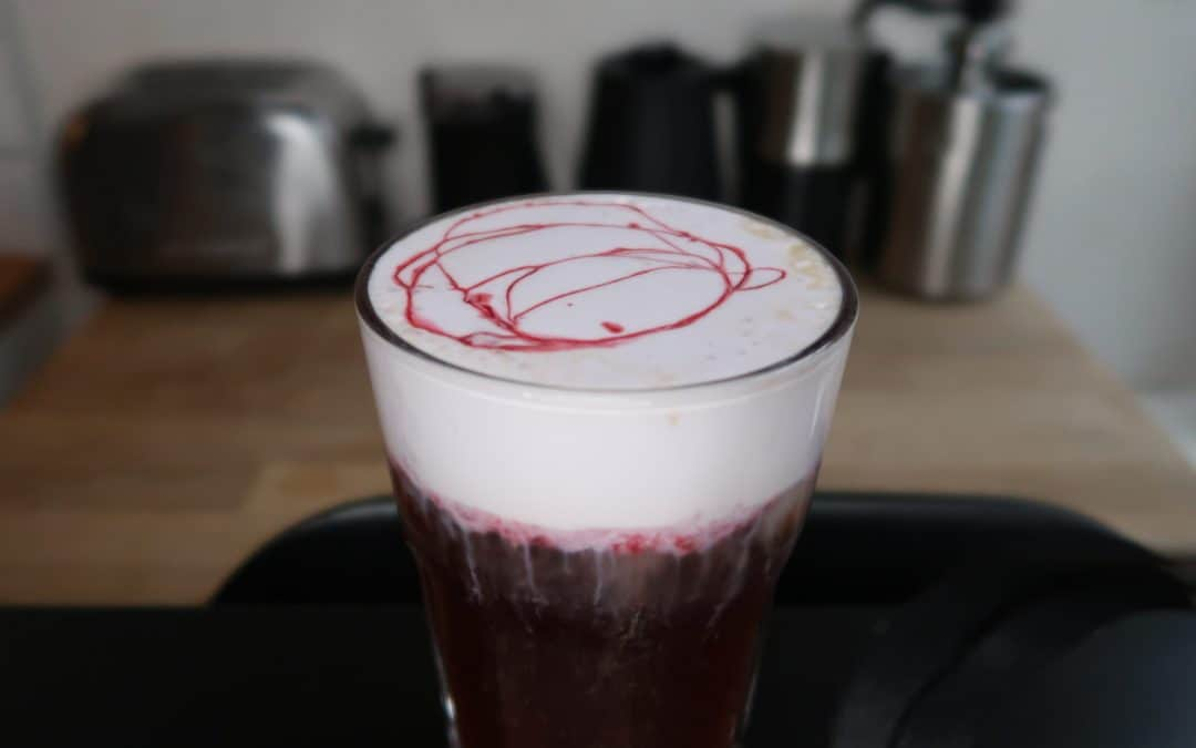 Raspberry Cold Foam Cold Brew Coffee Recipe