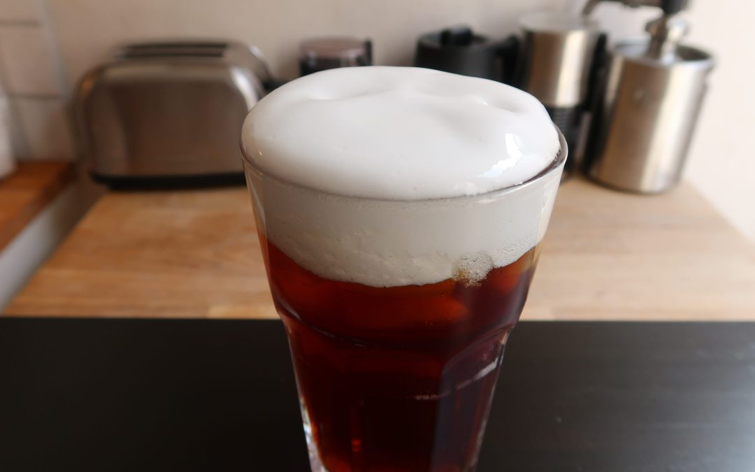 Cold Brew with Sweet Foam Recipe (No Milk!?)