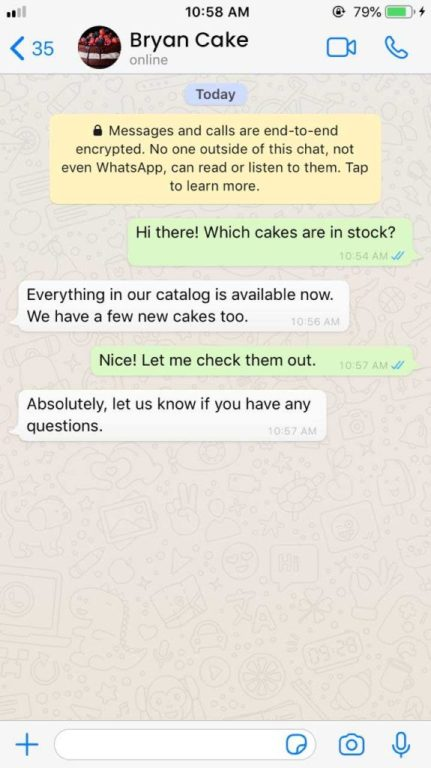 How to Advertise Cake Business On WhatsApp Personal Touch