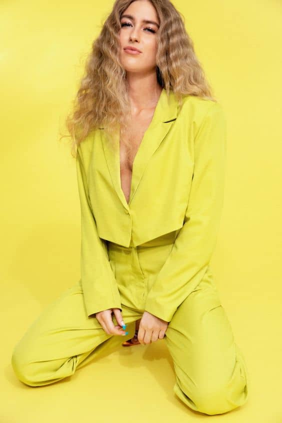 Tailored Long Sleeve Cropped Blazer Promotions nasty gal