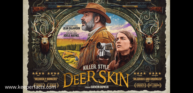 Deerskin Review: A very decent movie that follows the story of a man obsessed with his coat!