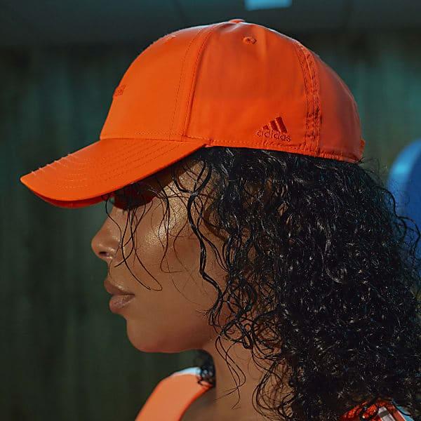 IVY PARK BASEBALL CAP SOLAR ORANGE