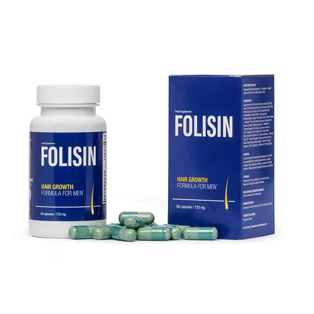 Folisin - a product for hair loss in men