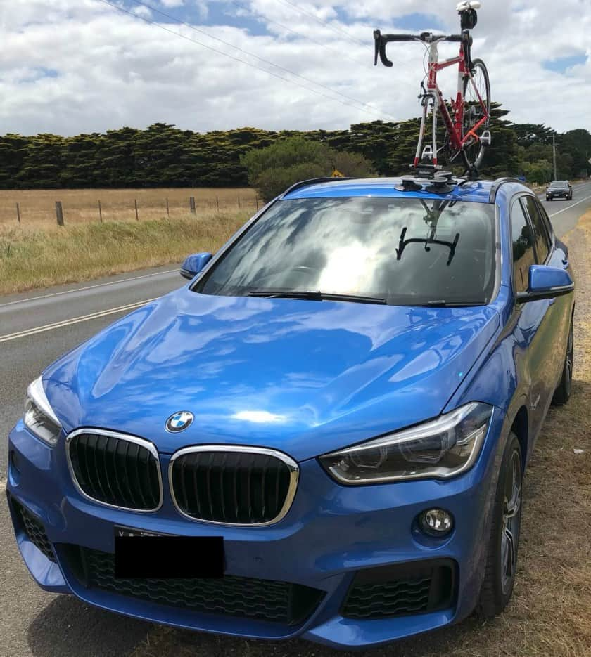 BMW X1 Bike Rack - The SeaSucker Talon