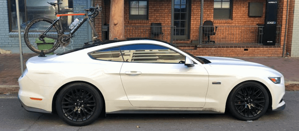 Ford Mustang GT Bike Rack - The SeaSucker Talon