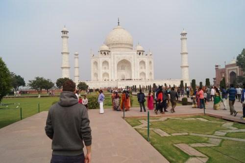 Mausoleo Taj Mahal 05 500x333 - La curiosa historia del Taj Mahal: amor, simetría y sacrificio