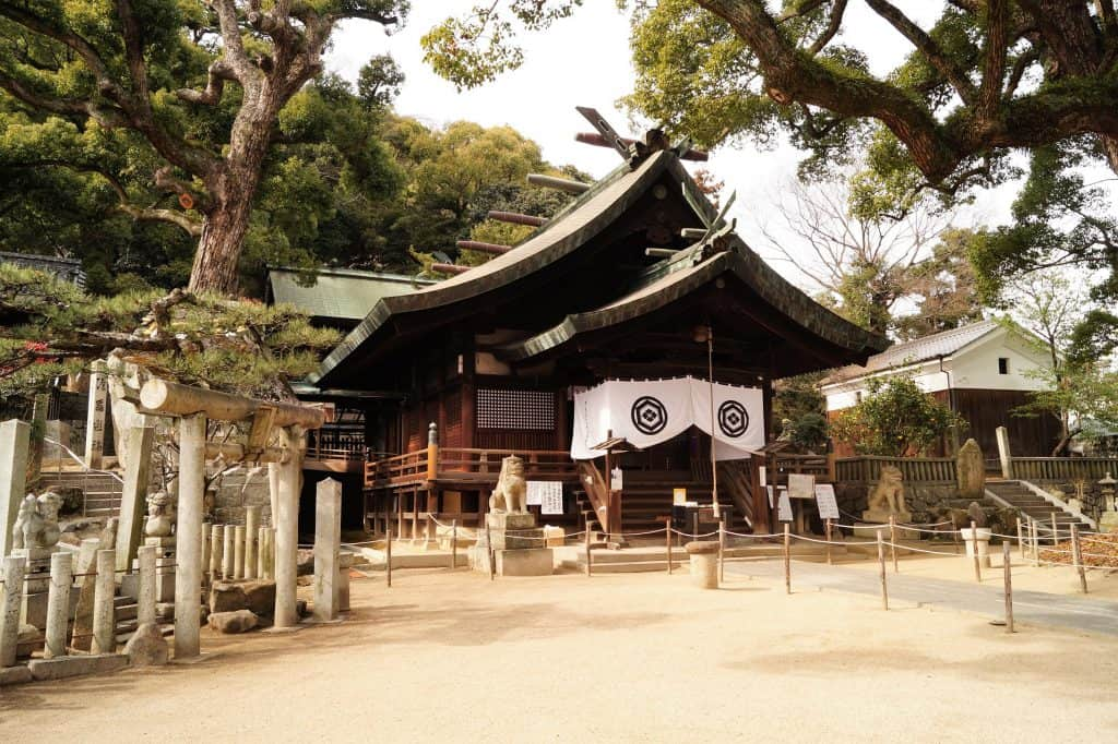 Japón Ushitora Shrine 1024x682 - Onomichi, travel guide to the city of temples
