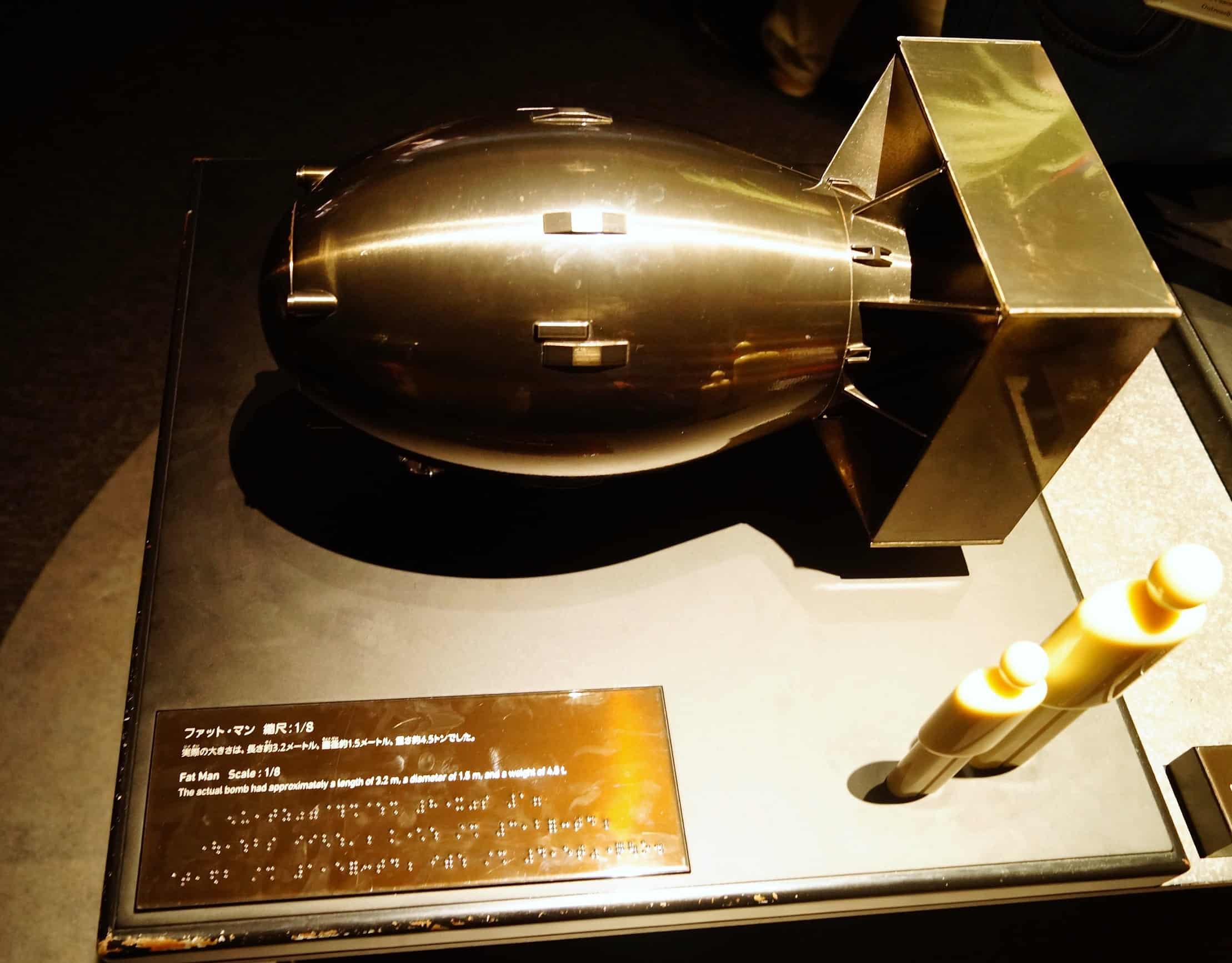 Hiroshima Bomba Fat Man - Hiroshima, guía de viaje: que ver y un poco de historia