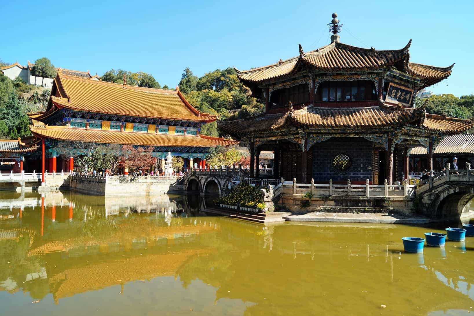 Kunming Yuantong Temple - Organized trip to Yunnan: 12 days in China with driver and guide