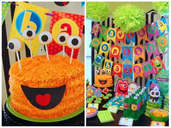 Boys Birthday Party Ideas Monster Party
