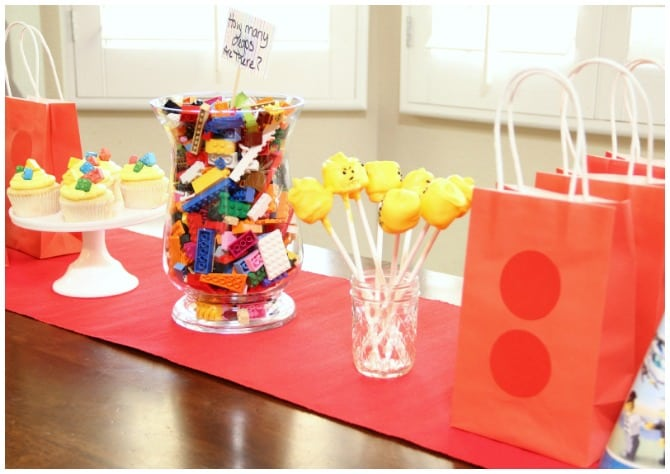 Budget lego party ideas