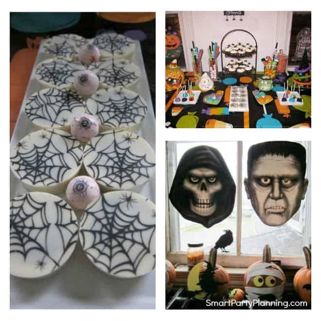 Fun Halloween themed birthday party
