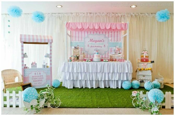 Cupcake Shoppe Party
