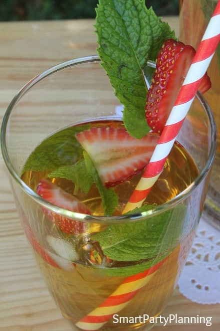 Chilled Iced Green Tea