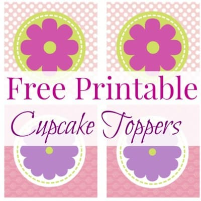 Free Printable Cupcake Toppers