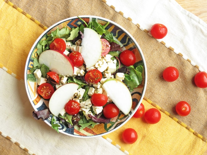 Easy Feta Apple Salad