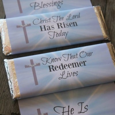 The Best Easy Religious Easter Candy Wrappers