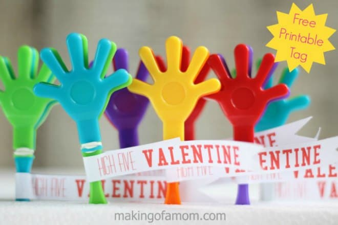 High Five Valentine Hand Clapper