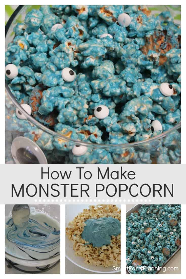 How to make monster popcorn
