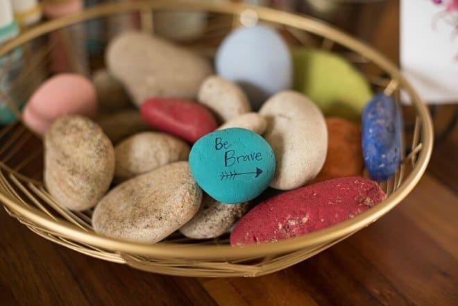 Be brave stones