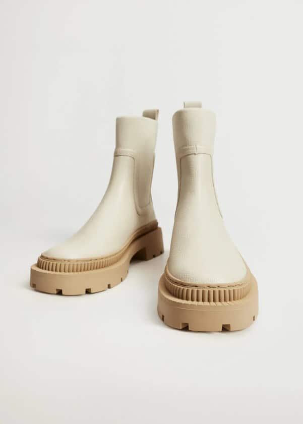 Track outsole boots - Mango
