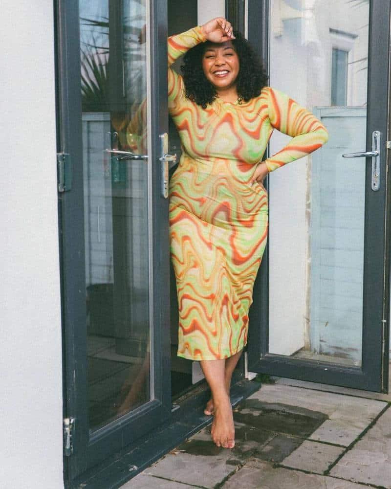 How to wear neon in 2021: Nicole Ocran