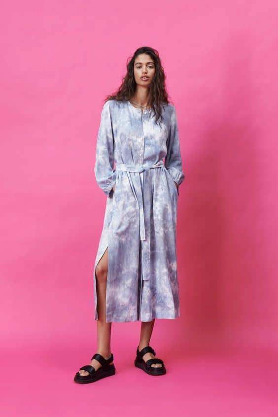 Tie-Dye Dress Zara