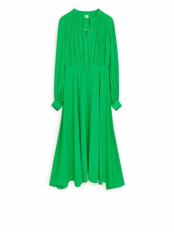 Fluid Crepe Dress