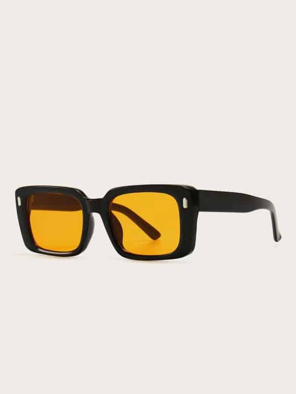 Tinted Lens Sunglasses Shein
