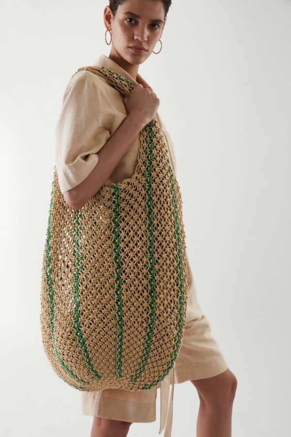 COS Crochet Shopper Bag