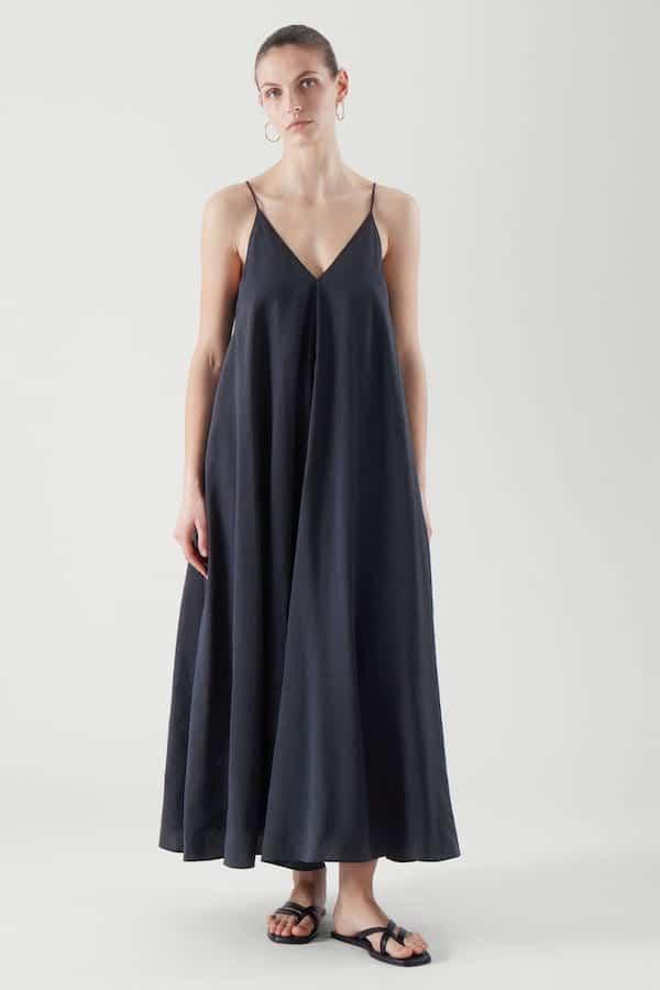 best cos summer dresses V-Neck Slip Dress