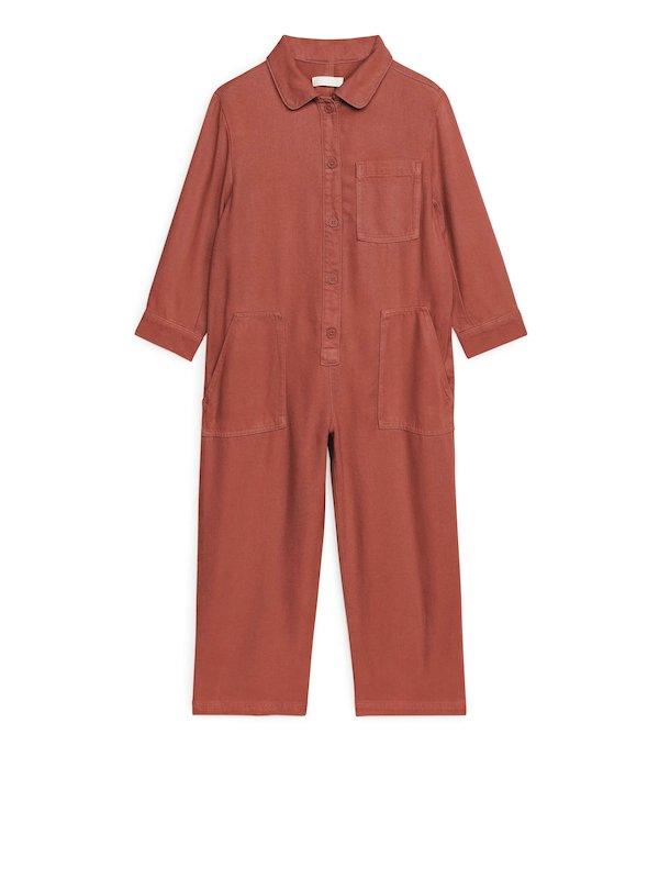 Arket lyocell workwear jumpsuit