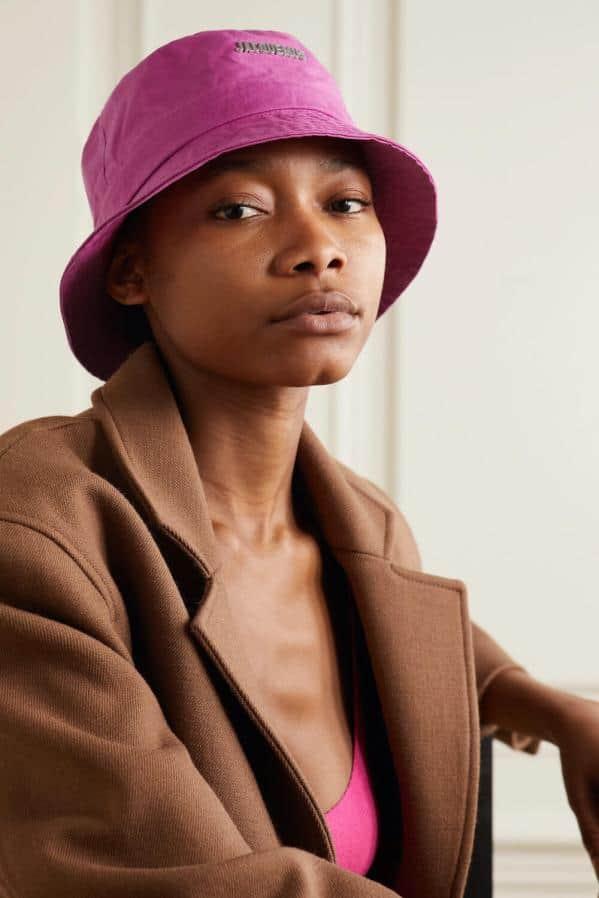 JACQUEMUS Le Bob Gadjo logo-appliquéd cotton-canvas bucket hat