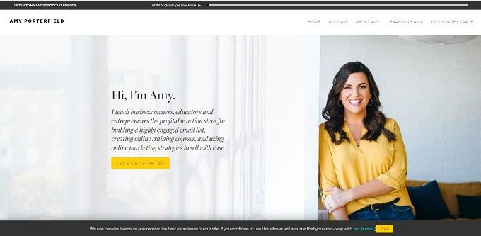 best blogs by women - Amy Porterfield