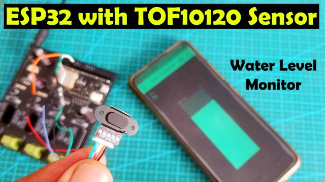 ESP32 with TOF10120