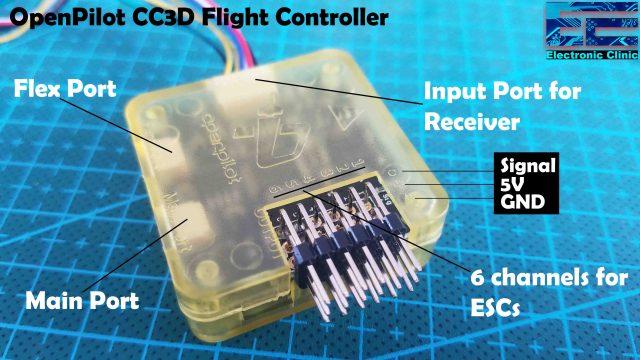 Quadcopter Drone using CC3D Flight controller