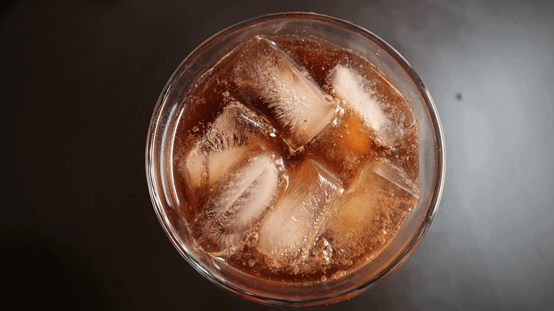 soda and cold brewed coffee