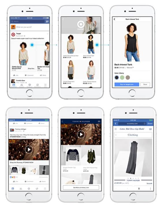 Facebook marketing strategy for small business Canvas Ads