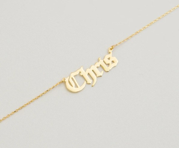 Personalised 18K Gold & 18K Rose Gold Plated Silver Sterling image 6 etsy