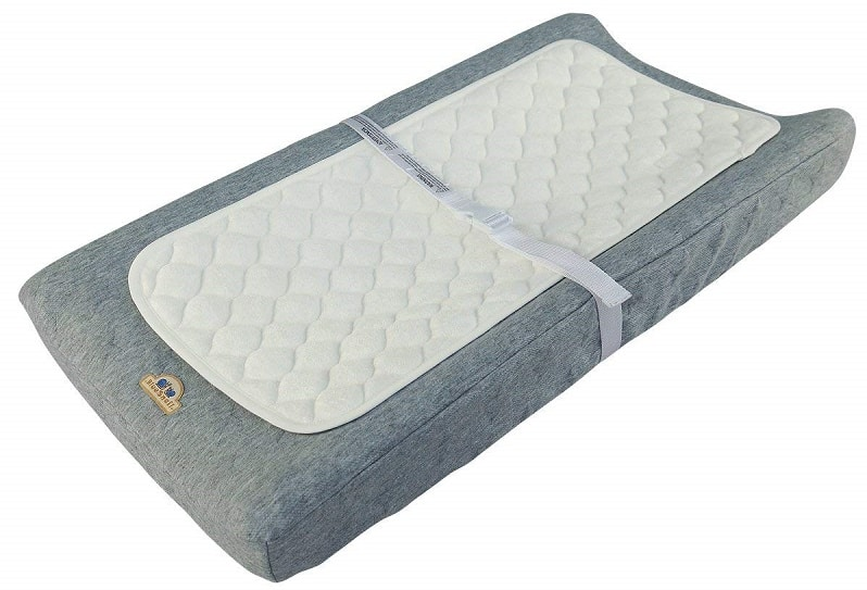 BlueSnail Bamboo Quilted Thicker Waterproof Changing Pad
