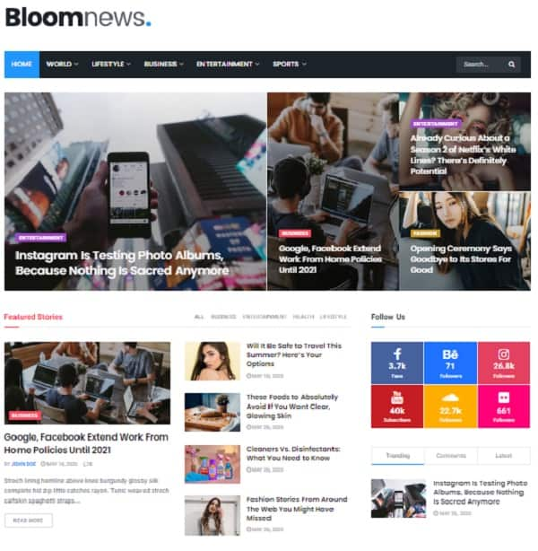 JNews - WordPress Newspaper Magazine Blogs AMP Themes