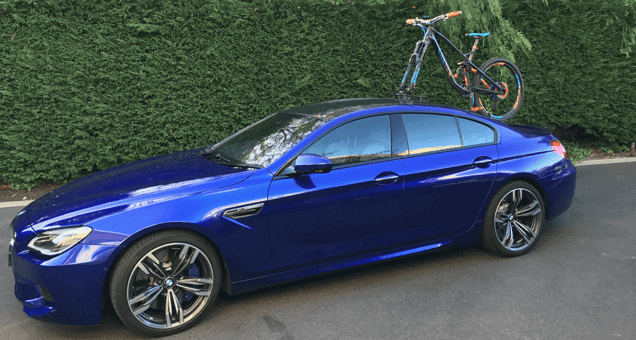 BMW M6 Bike Rack - The SeaSucker Talon