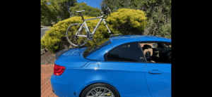 BMW M2 Convertible Bike Rack - The SeaSucker Talon